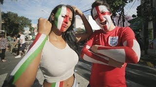 Dude Perfect & Body Painting in Brazil  | Hyundai FIFA World Cup™ Taxi