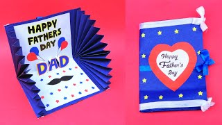 Beautiful Fathers Day Card Idea | Handmade Greetings Card For Dad | DIY Fathers Day Pop Up Card
