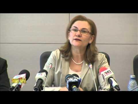 Conferinta de presa – 6 luni de mandat al ministrului Maria Grapini