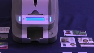 ID Card Printer SMART Single-Sided Thermal Printer Single-Sided