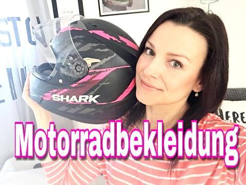 MOTORRADBEKLEIDUNG UPDATE  -  SHARK HELM - KEVLAR JEANS & KEVLAR HOODIE  MOTORCYCLE