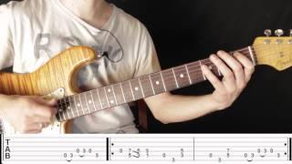 Como Tocar el Riff De Layla de Eric Clapton - Leccion de Guitarra Electrica - Riff Famosos