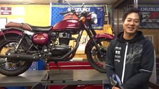 KAWASAKIエストレヤセラミックコーティング施工しました!山形県酒田市バイク屋SUZUKIMOTORS