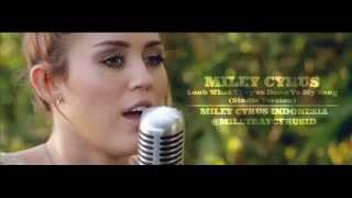 Miley Cyrus - Look What They've Done To My Song (Studio Version)
