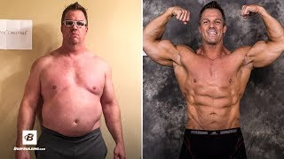 44 Year Old Dad Bod Transformation | Lost Over 50 lbs