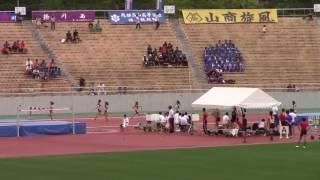 2017 東海総体陸上 女子200m 決勝
