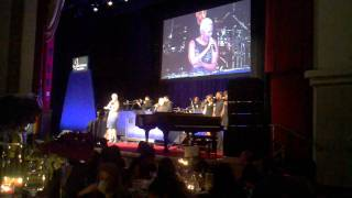 "Chrisette Michele sings ""I Apologize"" by Anita Baker Live at Jackie Robinson Gala"