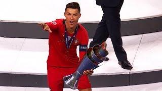 Сrіѕtіаnо Rоnаldо Wins Another International Trophy   2019 HD 1080i