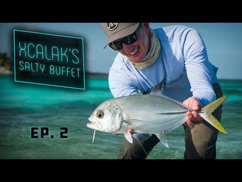 Xcalak's Salty Buffet - Fly Fishing Mexico's Flats - Giant Bonefish and MORE!
