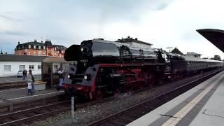 preview picture of video 'MARKTREDWITZ - Dampfsonderzug (010509-8) von Eger nach Zwickau 21.05.2011'
