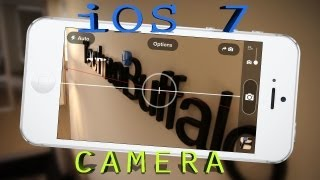 NEW IOS 7 Camera And Photos DEMO / Hands On Review
