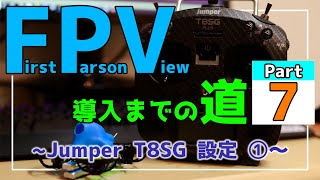"""【FPVドローン】Jumper T8SG PLUS バインド後~アームまでの設定解説【How to setup arm """"Jumper T8SG PLUS""""】"""