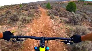 Rift Valley Trail, sweet downhill section