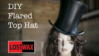 How To Make A Mad Hatter Top Hat- A DIY Tutorial And Pattern Halloween Idea