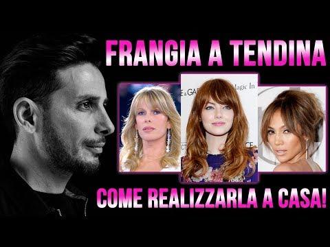 FRANGIA A TENDINA. COME REALIZZARLA A CASA!