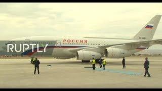 LIVE: Vladimir Putin Arrives At Esenboga Airport In Ankara