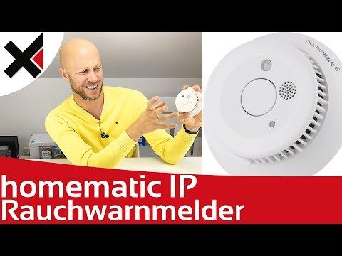 Homematic IP Rauchwarnmelder einrichten & Eindrücke | iDomiX