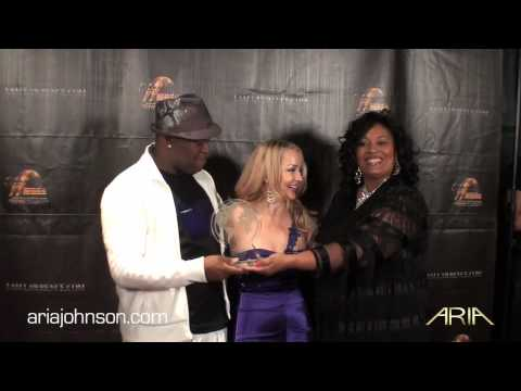 Aria Johnson - World Music Awards Acceptance