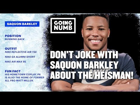 Don't Make Any Heisman Jokes To Saquon Barkley, Or Else.. | Going Numb | Ep. 4, Szn. 2