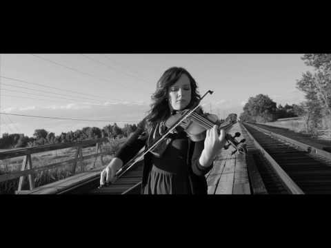 Version of the Schilder's List Theme. Filmed on train tracks of Rexburg, ID.