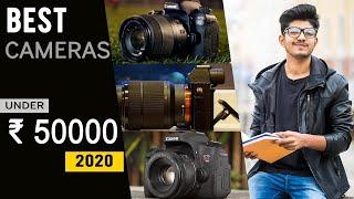 Best Camera Under 50000 | Best DSLR and mirrorless camera under 50000 in 2020
