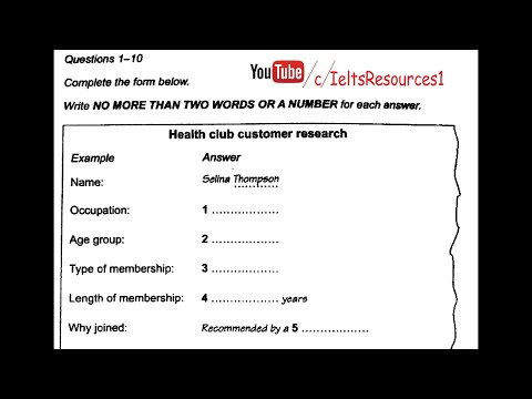 Cambridge ielts 13 Listening - Test 2 - Youtube Download