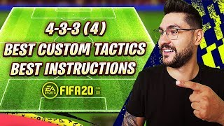 FIFA 20 BEST FORMATIONS 4-3-3 TUTORIAL - BEST CUSTOM TACTICS & INSTRUCTIONS / HOW TO PLAY 4-3-3 (4)