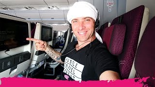 Flying QATAR AIRWAYS to Miami - ECONOMY CLASS REVIEW | Kuwait to Miami