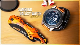 Samsung Galaxy Watch Customize w/ Bands and Watchfaces | WatchMaker Premium