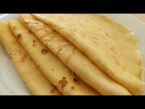 Crepes Rezept | Pfannkuchen Crepes Teig