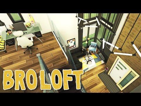 Bro Loft || The Sims 4 Windenburg Townhouses: Speed Build #4