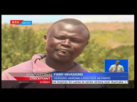 Rising cases of herders engaging in fights with private ranch owners in Laikipia County