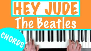 How to play 'HEY JUDE' - The Beatles | Piano   - YouTube