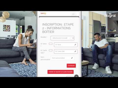 Activer une carte SIM Diagral depuis l'application e-ONE