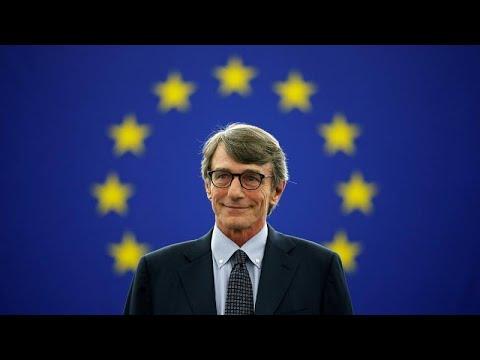 Οι πρώτες δηλώσεις του νέου προέδρου του Ευρωπαϊκού Κοινοβουλίου…