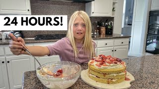 Everleigh Becomes A Professional Baker For 24 Hours!!!