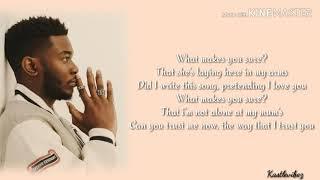 Nonso Amadi   What Makes You Sure ? (Lyrics)