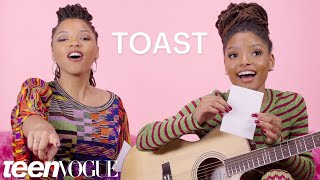 Chloe X Halle's Freestyle Jam Session | Teen Vogue