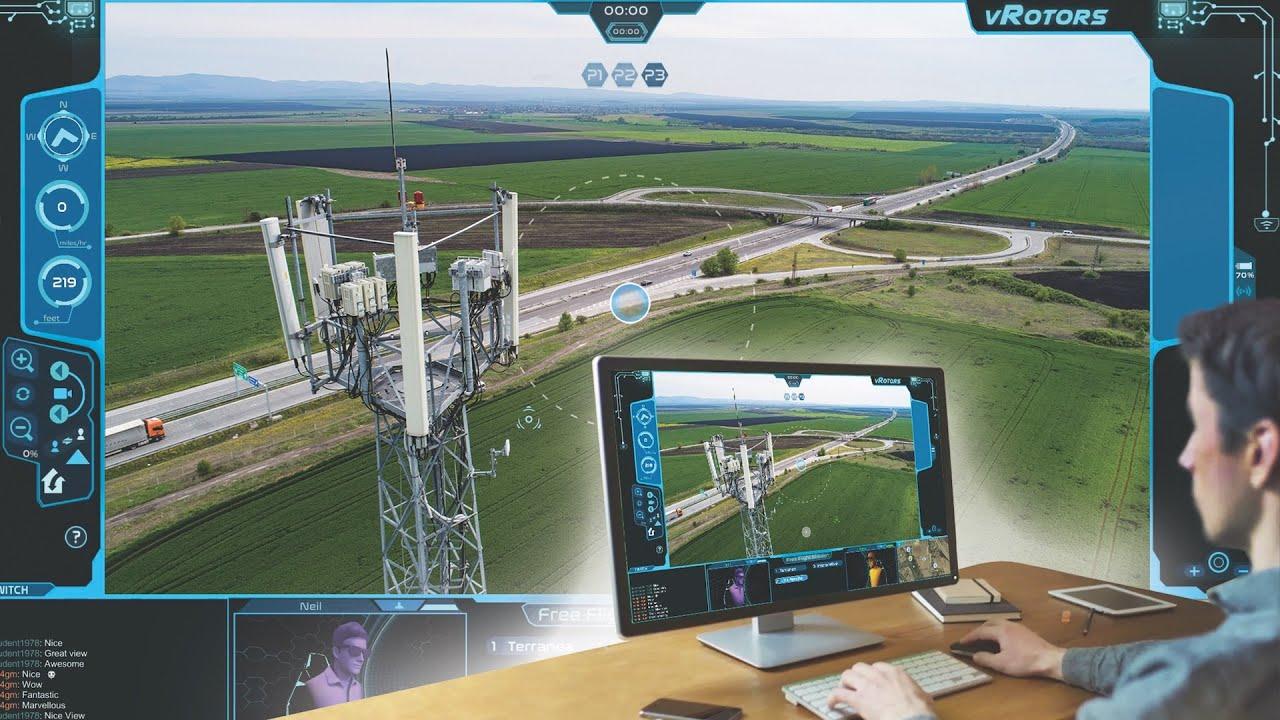 vRotors Enterprise Remote Drone Platform Introduction