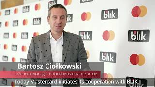 BLIK users will pay contactless - Bartosz Ciołkowski and Javier Perez, Mastercard Europe