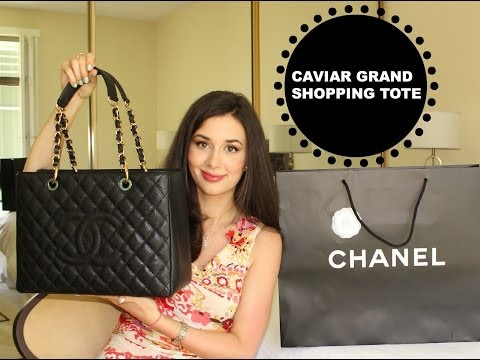 Chanel Handbag Haul: Grand Shopping Tote Unboxing