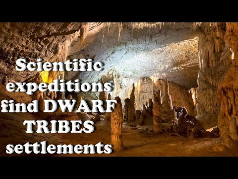 "A.Koltypin ""Scientific expeditions find DWARF TRIBES settlements in ancient underground"" tunnels"