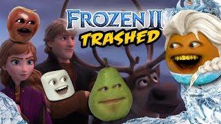 Annoying Orange - FROZEN 2 TRAILER Trashed!!