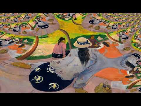 Ambient Music Visual – Gauguin Ambiance