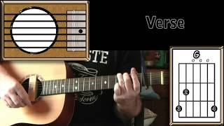 You Got It - Roy Orbison - Acoustic Guitar Lesson