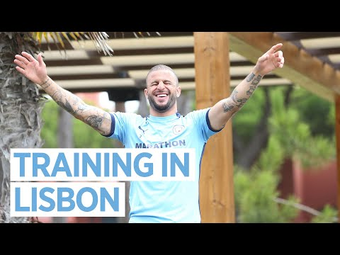PREPARING FOR LYON | CHAMPIONS LEAGUE TRAINING IN LISBON