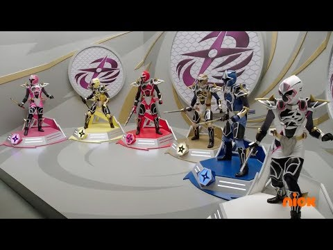 Power Rangers Super Ninja Steel - Sub Surfer Ninja Megazord Fight | Episode 4