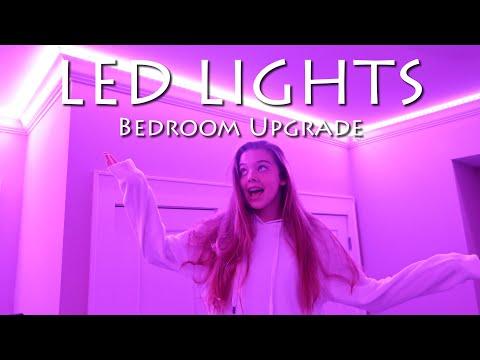 Bedroom Upgrade - LED Lights! | Whitney Bjerken