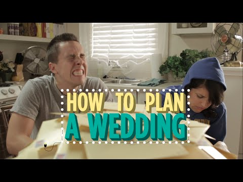 how to plan a good wedding