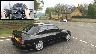 Forza Horizon 4 BMW M3 E30 (Steering Wheel + Shifter) Gameplay